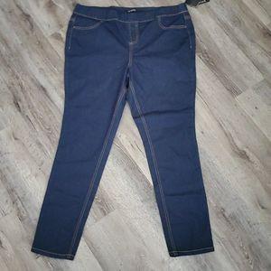 Energies Stretch Skinny Jean's Jeggings 1X NEW